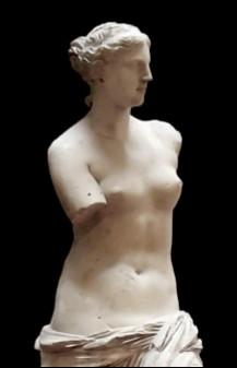 """La statue """"Vénus de Milo"""" se trouve au Louvre. D'où vient le nom de Milo ?"""