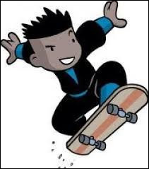 Un passionné de skate, mais avant tout grand ninja !