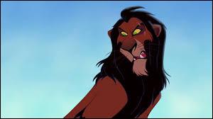 Il a tué son frère, Mufasa.