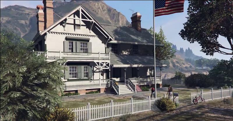 Cette maison dispose de tout le confort nécessaire aux soldats du feu présents lors de leur garde. Dans quel jeu vidéo apparaît-elle ?