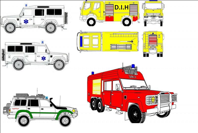 Certains de nos véhicules sont uniques et ne se trouvent nulle part ailleurs. C'est pour cela que nous avons fait des dessins. Combien voyez-vous d'engins ici ?