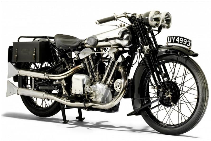 Quelle est cette moto de 1929 ?