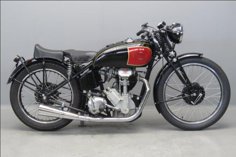 De quelle marque est cette 350cc de 1939 ?