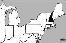 Quel est l'Etat en noir ?