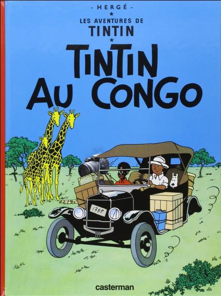 Toujours sur la brèche, Tintin est maintenant au Congo, ça, c'est sûr, mais sous quelle couverture bizarre ? (Toujours 3 erreurs à trouver !)