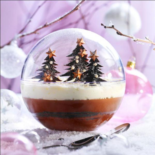 Que vous inspire cette jolie sphère enneigée ?