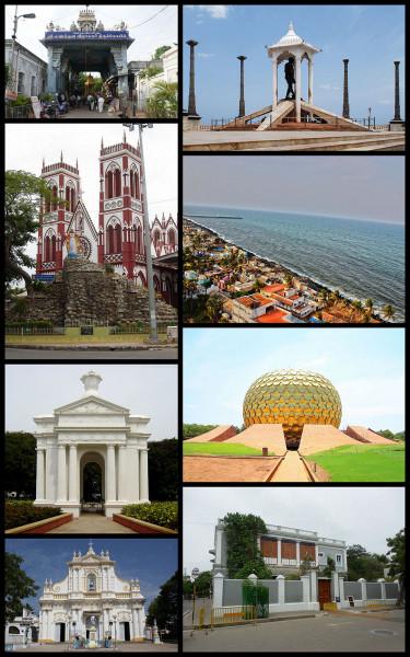 Quel était la capitale des Indes françaises (1668-1954) ?