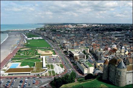 Ville normande, port sur la Manche, sous-préfecture du département de Seine-Maritime :