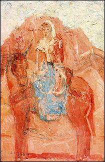 """Qui a peint """"Femme sur un âne"""" ?"""