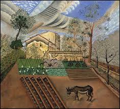 """Qui a peint """"Le potager avec âne"""" ?"""