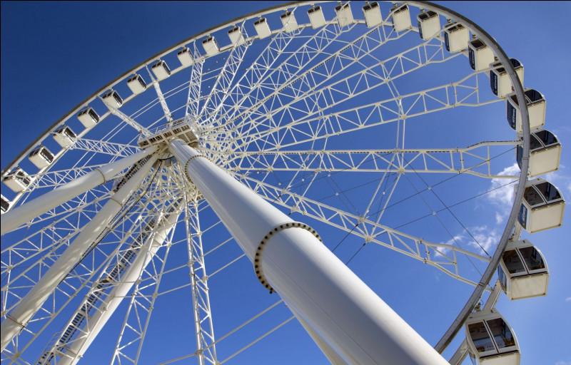 Combien de capsules de verre comporte la grande roue de Londres ? (Dans la vidéo)