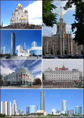 Retrouvez le nom de cette ville située en Russie.