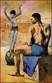 """Qui a peint """"Acrobate et Jeune Équilibriste"""" ?"""