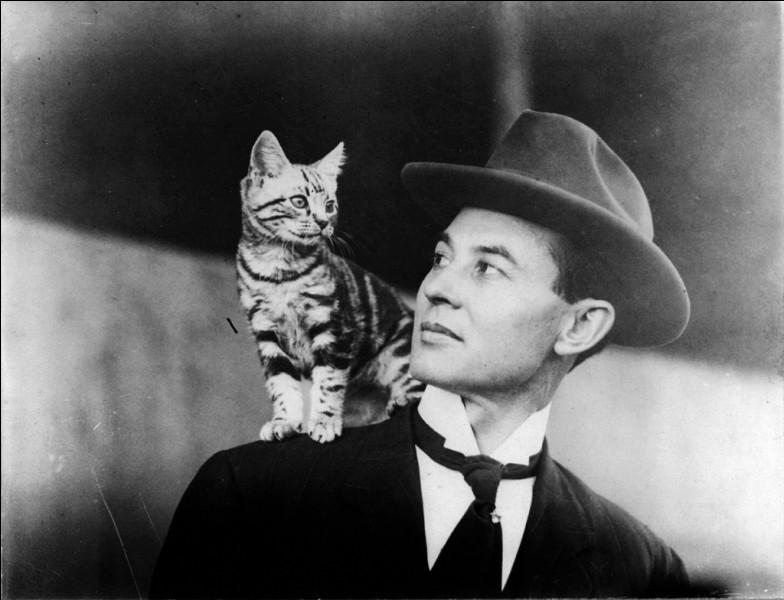 Comment s'appelait le chat de l'aviateur John Moisant ?