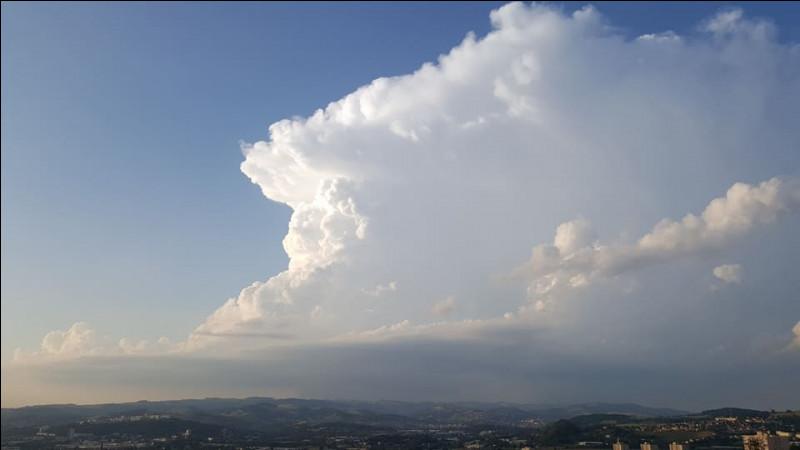 Comment s'appelle le genre de nuage responsable des orages ?