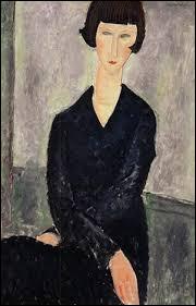 """Qui a peint """"La Robe noire"""" ?"""