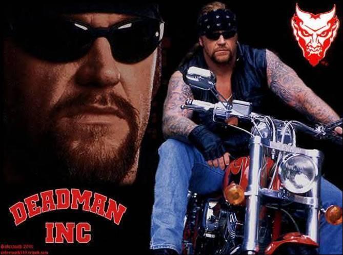 Quel était la surnom de l'undertaker lorsqu'il était motard ?