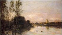 """Qui a peint """"Canetons dans un paysage fluvial"""" ?"""