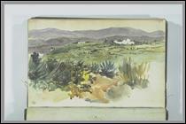 """Qui a peint """"Paysage près de Tanger"""" ?"""