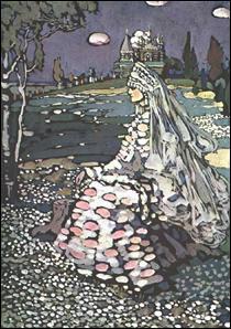 """Qui a peint """"Beauté russe dans un paysage"""" ?"""