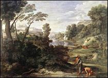 """Qui a peint """"Paysage avec Diogène"""" ?"""
