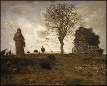 """Qui a peint """"Paysage d'automne avec un troupeau de dindes"""" ?"""