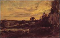 """Qui a peint """"Soirée paysage"""" ?"""