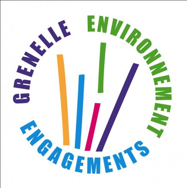 En quelle année a eu lieu, en France, le Grenelle de l'environnement ?
