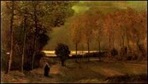"""Qui a peint """"Paysage d'automne au crépuscule"""" ?"""