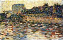 """Qui a peint """"Courbevoie, paysage avec tourelle"""" ?"""