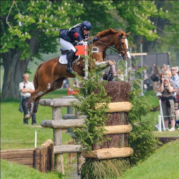 """En anglais, ce sport est appellé """"country jumping""""."""