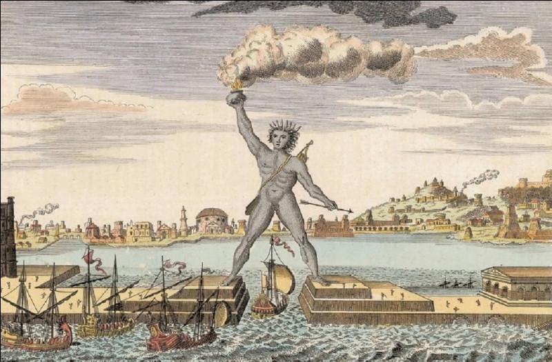 Qu'est-ce qui détruisit ''Le colosse de Rhodes'' une des Sept Merveilles du monde de l'antiquité ?