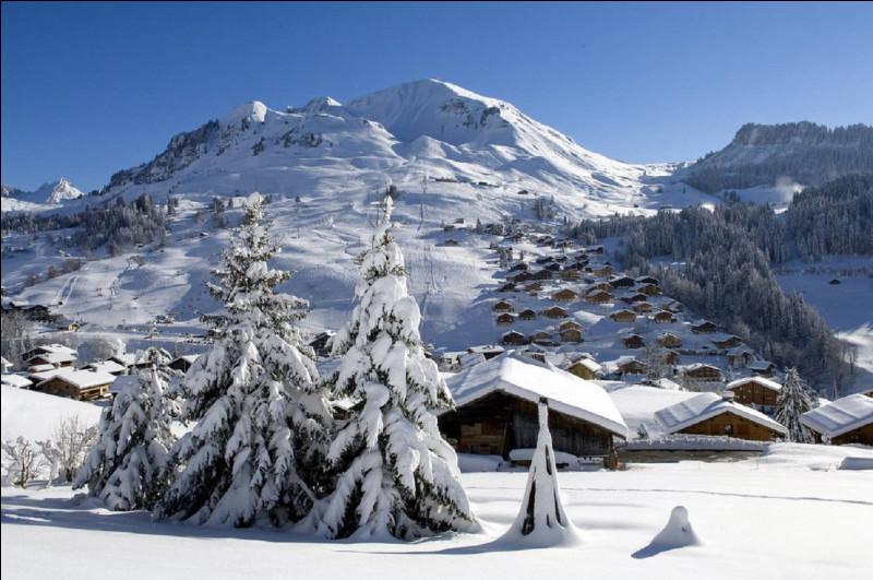 Dans quel département se situe la station de sports d'hiver ''Le Grand-Bornand'' ?