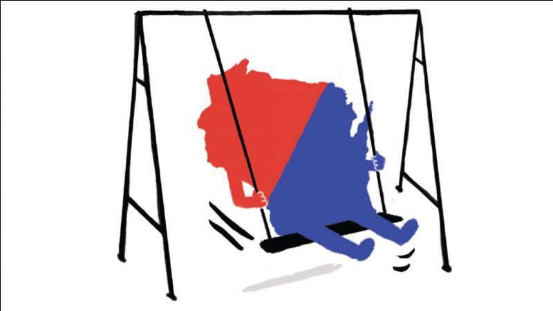Depuis les élections de 2000, la campagne présidentielle se joue surtout dans quelques États qui sont susceptibles de faire pencher la balance d'un côté ou de l'autre : ce sont les swing states. Quel État n'en est pas un ?