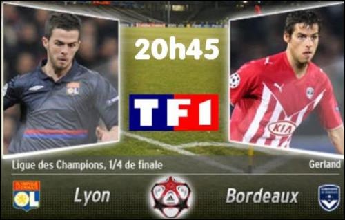 Lyon-Bordeaux fut la seule rencontre opposant 2 clubs français en phase éliminatoire de LDC. Quel était le score cumulé ?