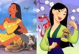 'Mulan' ou 'Pocahontas' ?