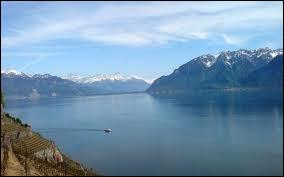La France et la Suisse se partagent ce grand lac, le Léman, traversé d'est en ouest par un fleuve, le...