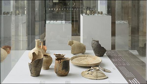 Quels fruits carbonisés a-t-on retrouvés dans des urnes funéraires à Bibracte ?