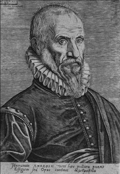Un célèbre anatomiste français, chirurgien des rois, appliquera ces nouvelles connaissances à la chirurgie, réunissant ainsi deux disciplines qui ne vont, encore aujourd'hui, pas l'une sans l'autre. Qui est-il ?