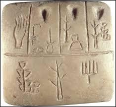 Comment s'appelaient les premiers signes écrits ?