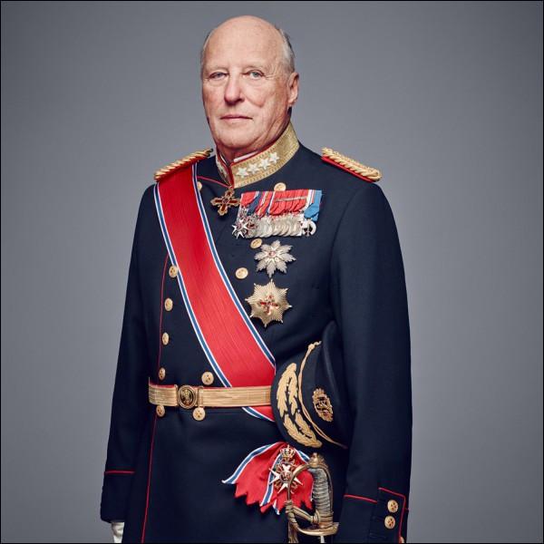 Voici le roi Harald V. De quel pays est-il le souverain ?