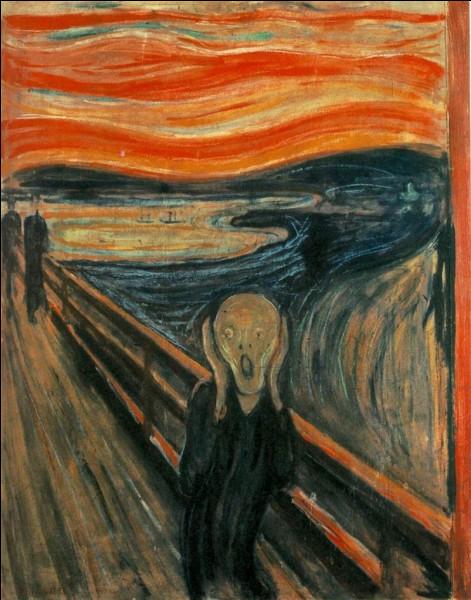 """""""Le Cri"""" d'Edvard Munch est un des exemples d'un courant artistique. Lequel ?"""