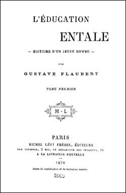 Quel est ce roman de l'écrivain Gaston Flaubert publié en 1869 ?
