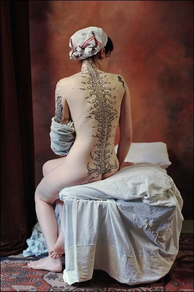 Quelle autre peinture de Jean-Auguste-Dominique Ingres est-elle évoquée là ?