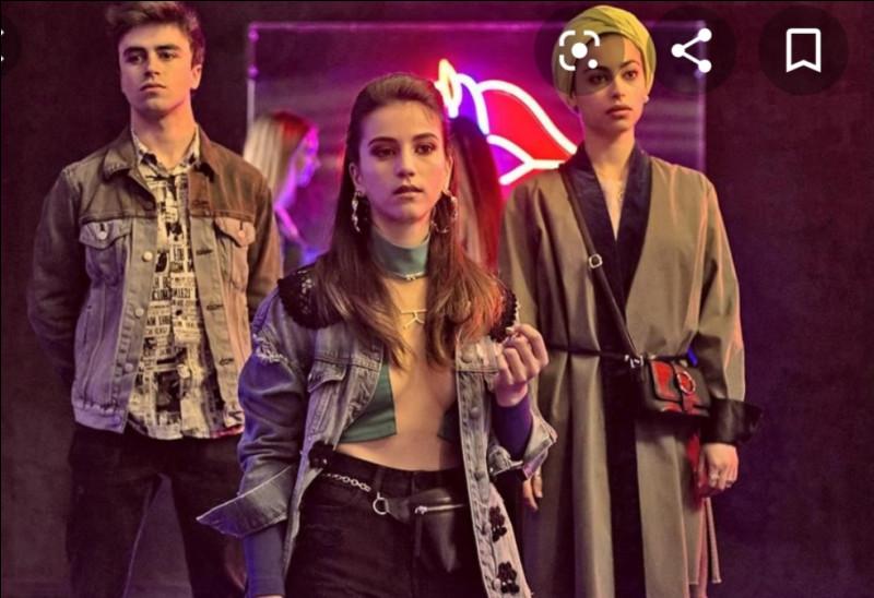 Où se trouvaient Rebecca, Samuel et Nadia sur cette photo ?