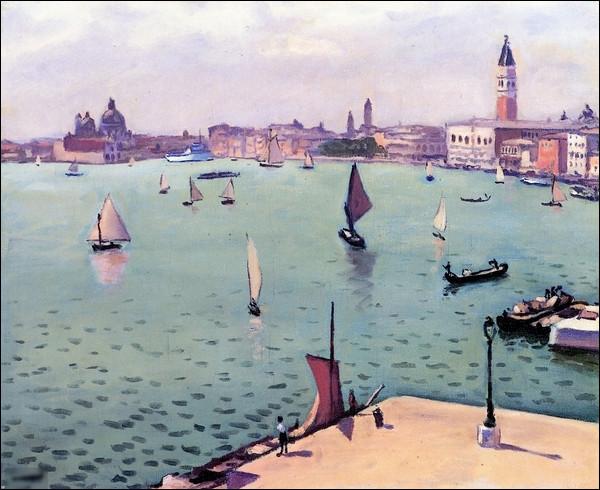 """Qui est l'auteur du tableau """"Vue de Venise"""" ?"""