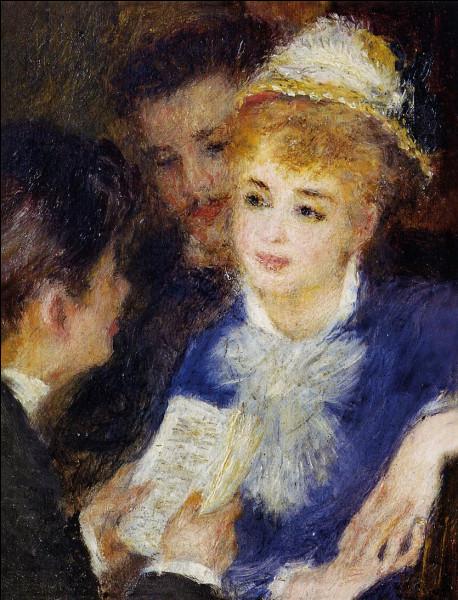 """Quel peintre a réalisé le tableau """"La lecture du rôle"""" ?"""