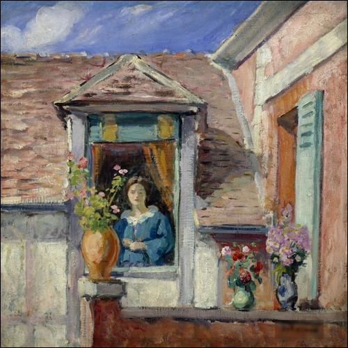 """Qui a peint """"Femme à la fenêtre"""" ?"""