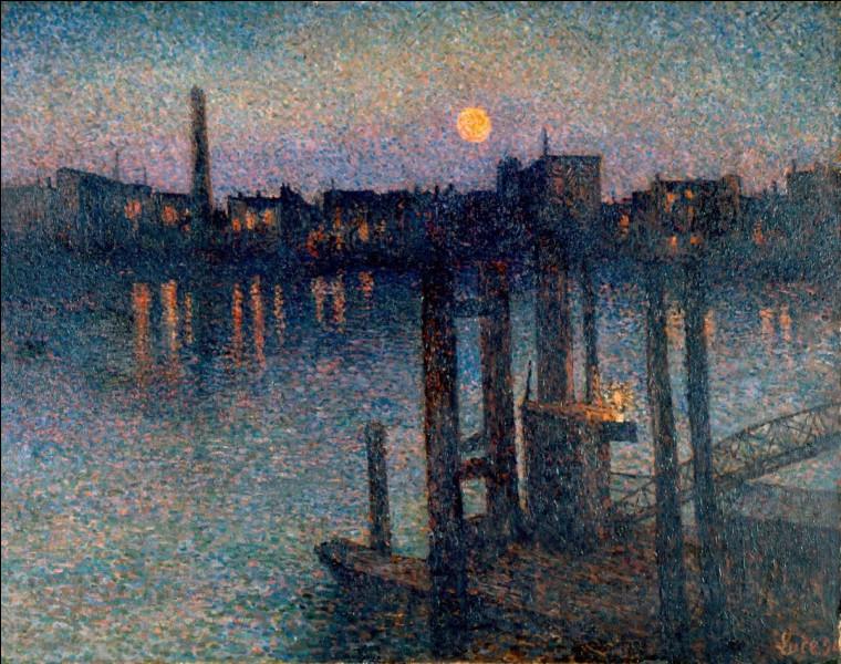 """Toujours dans le pointillisme, qui a réalisé """"Port de Londres, nuit"""" ?"""