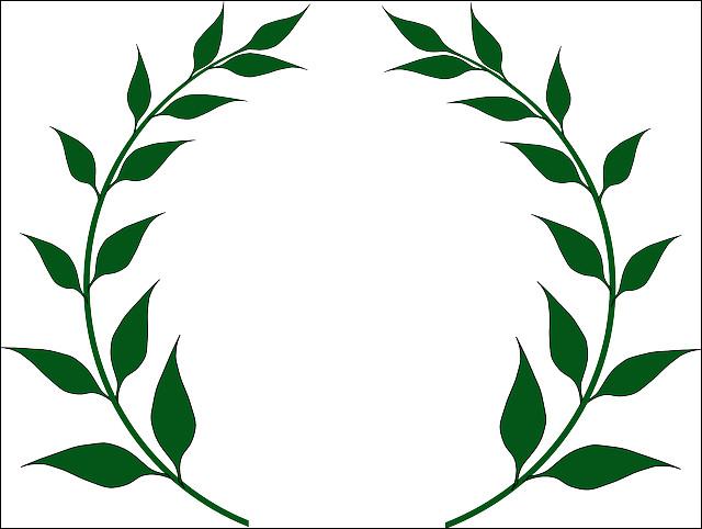 Les empereurs vivant à Rome portaient des couronnes de lauriers. Pourquoi Jules César a-t-il une couronne de lauriers en or ?